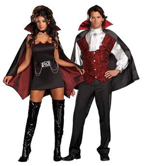 Fang Banging Fun Sexy Vampire Costume