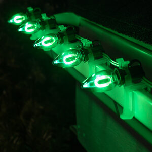 C7 Green LED Light Bulbs