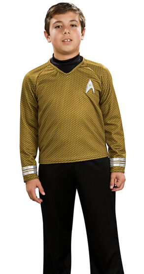 Star Trek Gold Deluxe Kids Costume