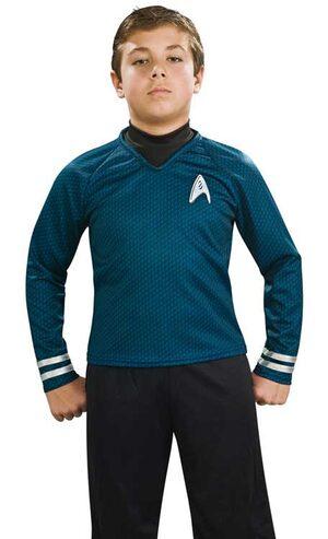Star Trek Blue Deluxe Kids Costume