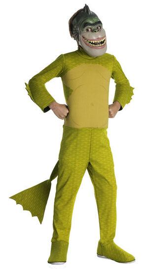 Monsters vs Aliens Missing Link Deluxe Kids Costumes