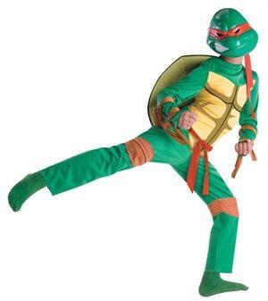 Kids Classic Raphael Ninja Turtle Costume