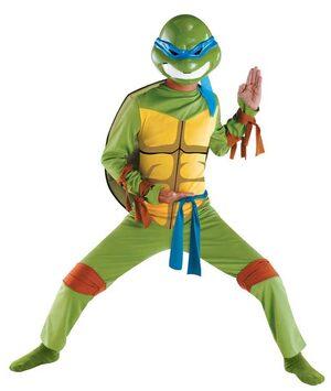 Kids Classic Leonardo Ninja Turtle Costume