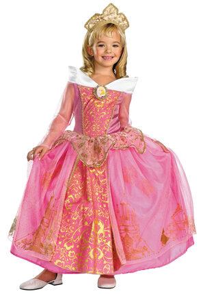 Kids Prestige Disney Princess Aurora Costume