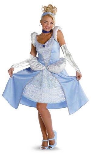 Sassy Adult Disney Princess Cinderella Costume