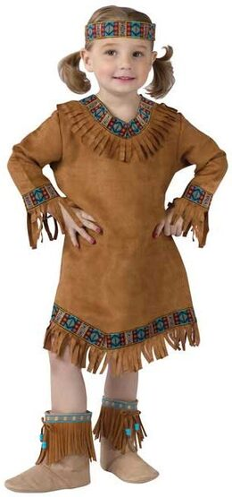 Kids Indian Girl Toddler Costume