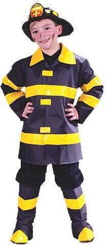 Kids Chief Fireman Costume